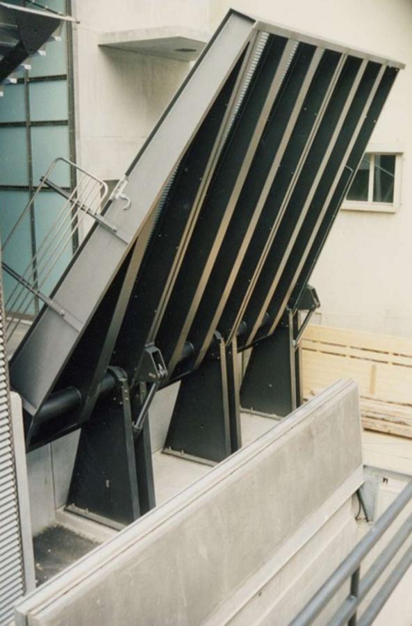 Verladetechnik spezialsysteme rationelles verladen nach for Kettenschloss mit drehscheibensystem